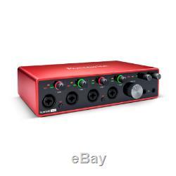 Focusrite Scarlett 18i8 18x8 USB Audio Interface 3rd Gen Refurbished