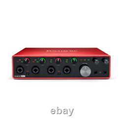 Focusrite Scarlett 18i8 18x8 USB Audio Interface 3rd Gen for Producers/Bands