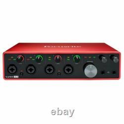 Focusrite Scarlett 18i8 3rd Gen 18-in, 8-out USB Audio Interface- In Stock! MINT