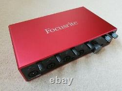 Focusrite Scarlett 18i8 3rd Generation USB Audio Interface