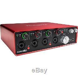 Focusrite Scarlett 18i8 USB 2.0 Audio Interface (2nd Generation) Brand New