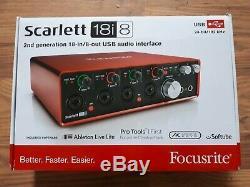 Focusrite Scarlett 18i8 USB Audio Interface