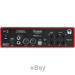 Focusrite Scarlett 18i8 USB Audio Interface 18 Inputs & 8 Outputs (2nd Gen)