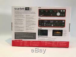 Focusrite Scarlett 18i8 USB Audio Interface 2nd