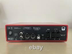 Focusrite Scarlett 18i8 USB Audio Interface 2nd gen EXCELLENT