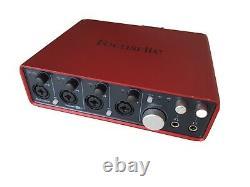 Focusrite Scarlett 18i8 USB Audio Interface band recording