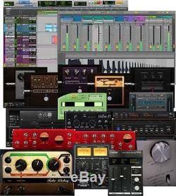 Focusrite Scarlett 2i2 (2nd Gen) Studio Recording Bundle with Pro Tools First