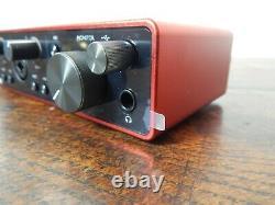 Focusrite Scarlett 2i2 3rd Gen Professional Studio USB Audio Interface