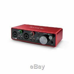 Focusrite Scarlett 2i2 (3rd Gen) USB Audiointerface