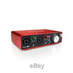 Focusrite Scarlett 2i2 G2 MKii 24/192 2 in/2 out USB Audio Interface B STOCK