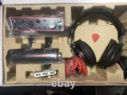 Focusrite Scarlett 2i2 Studio 3rd Gen 2x2 USB Audio Interface Bundle withiPhoneADP