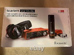 Focusrite Scarlett 2i2 Studio 3rd Gen USB Audio Interface