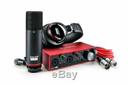 Focusrite Scarlett 2i2 Studio 3rd Gen USB Audio Interface and Recording Bundles