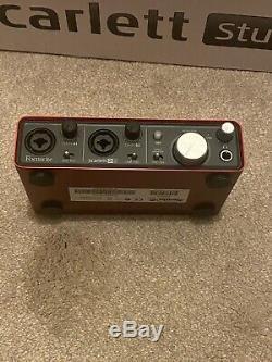 Focusrite Scarlett 2i2 Studio USB Audio Interface and Recording Bundle