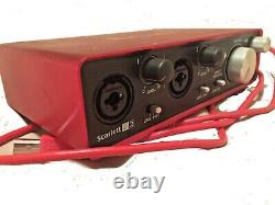 Focusrite Scarlett 2i2 USB Audio Interface (2nd Gen). Low starting price