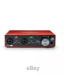 Focusrite Scarlett 2i2 USB Audio Interface, 3rd Gen Ableton Live & Tools Inc