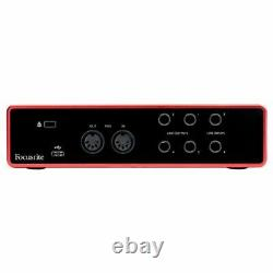 Focusrite Scarlett 4i4 3rd Gen USB Audio Interface @3