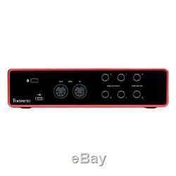 Focusrite Scarlett 4i4 3rd Gen USB Audio Interface + Ableton, Pro Tools & More