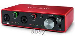 Focusrite Scarlett 4i4 3rd Gen USB Audio Interface with Pro Tools First