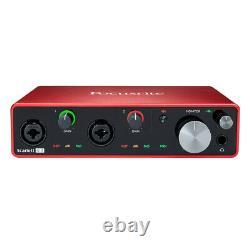 Focusrite Scarlett 4i4 3rd Generation Professional 4-Channel USB Audio Interface