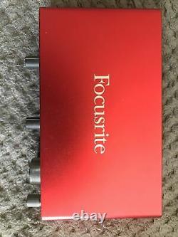 Focusrite Scarlett 4i4 USB 3rd Gen Audio Interface (Slightly Used- Original box)