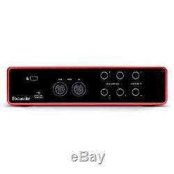 Focusrite Scarlett 4i4 USB Audio Interface 3rd Gen