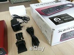 Focusrite Scarlett 6i6 2nd Gen USB Audio Interface USED ONCE