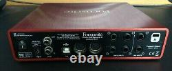 Focusrite Scarlett 6i6 2nd Generation USB Audio Interface