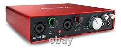 Focusrite Scarlett 6i6 Mk2 192khz Usb Audio Recording Interface+pro Tools First