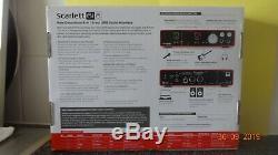 Focusrite Scarlett 6i6 Mk2 Audio Interface Usb 24-bit 192khz Boxed External