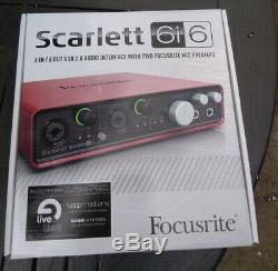 Focusrite Scarlett 6i6 USB Audio Interface