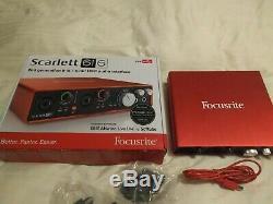 Focusrite Scarlett 6i6 USB Audio Interface 2nd Gen