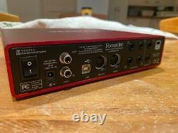 Focusrite Scarlett 6i6 USB Pro Audio Interface