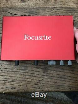 Focusrite Scarlett 8i6 3rd Gen USB Audio Recording Interface DAC w 2 Mic Preamps