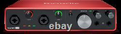 Focusrite Scarlett 8i6 3rd Generation Professional 8-Channel USB Audio Interface