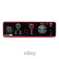 Focusrite Scarlett Solo Compact USB Audio & Recording Interface 3rd Gen