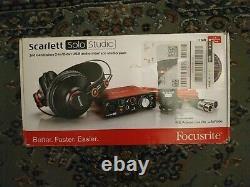 Focusrite Scarlett Solo Studio (2nd Gen) USB Audio Interface & Recording Bundle