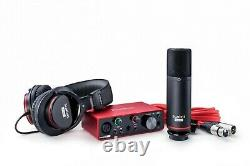 Focusrite Scarlett Solo Studio 3rd Gen Mk3 Recording Bundle Ableton & Pro Tools