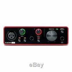 Focusrite Scarlett Solo Studio 3rd Gen USB Audio Interface + Ableton & Pro Tools