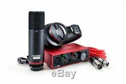 Focusrite Scarlett Solo Studio Pack 3rd Gen USB Audio Interface