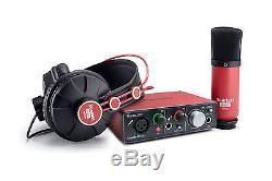 Focusrite Scarlett Solo Studio Pack USB 2.0 Audio Interface