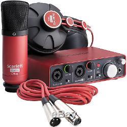 Focusrite Scarlett Studio Complete Professional Recording Package