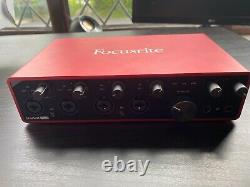 Focusrite scarlett 18i8 Third- Generation 18 in, 8-out USB Audio Interface