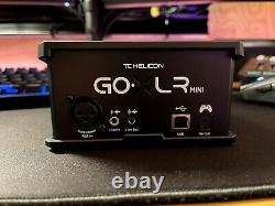 GO XLR MINI Online Broadcast Mixer with USB Audio Interface and Midas Preamp