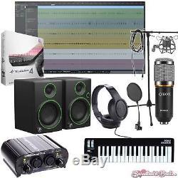 Home Recording Bundle Presonus Studio One Prime Package Midi Mackie Art Software