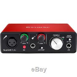 Home Recording Bundle Studio One Package Midi32 M-Audio Focusrite Software