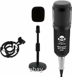 Home Recording Studio Bundle with Pro Tools First M-Audio Mackie
