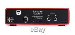 Home Recording Studio Package Bundle Focusrite Audio Technica KRK Pro Tools