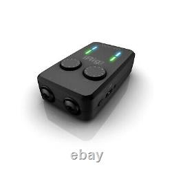 IK Multimedia iRig Pro Duo I/O Mobile Audio Interface for Mac, PC, IOS, Android