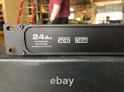 MOTU 24Ao USB/AVB Ethernet Audio Interface Andlog 24 Outs